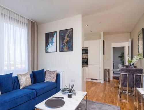 Londra Finans merkezine çok yakın Phoenix projesinde 3 odalı bir daire
